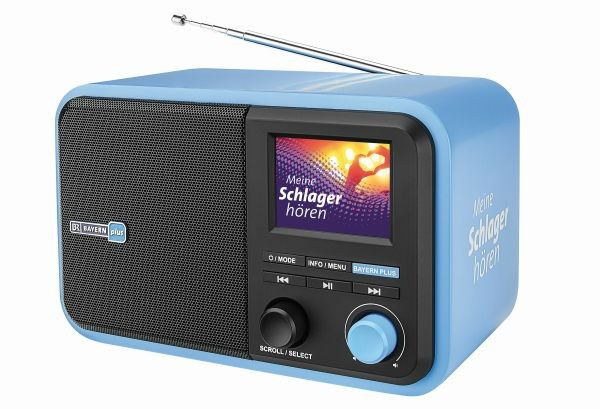Digitalradio 'Bayern Plus' für DAB+ und UKW