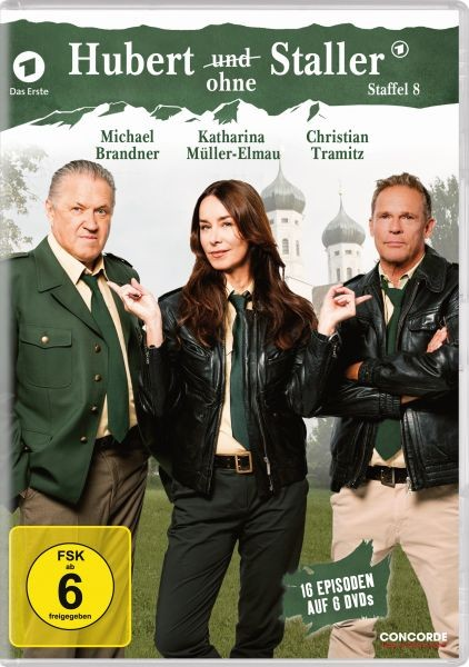 Hubert ohne Staller-Staffel 8/6DVD