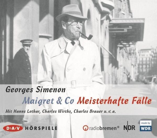 Simenon: Maigret & Co - Meisterhafte Fälle