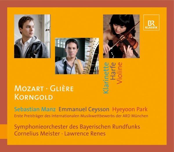 Konzerte Für Klarinette,Harfe,Violine