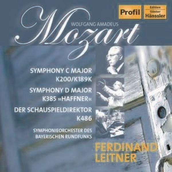 Mozart: Symphonien/Schauspieldirektor