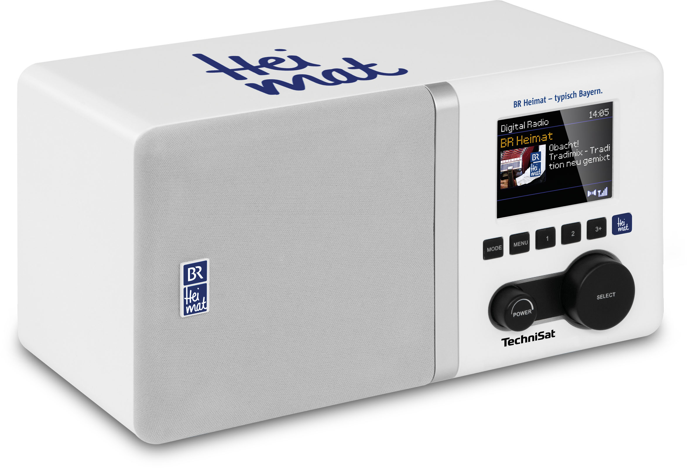Digitradio 300 Br Heimat Edition Weiss Br Shop