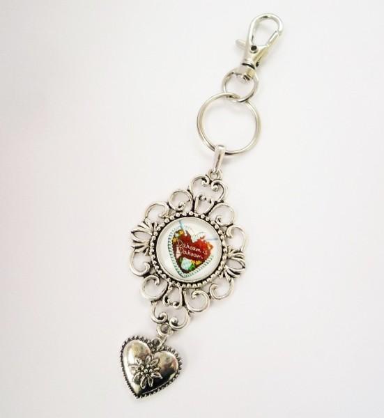 Dahoam is Dahoam - Schlüsselanhänger + Anhänger