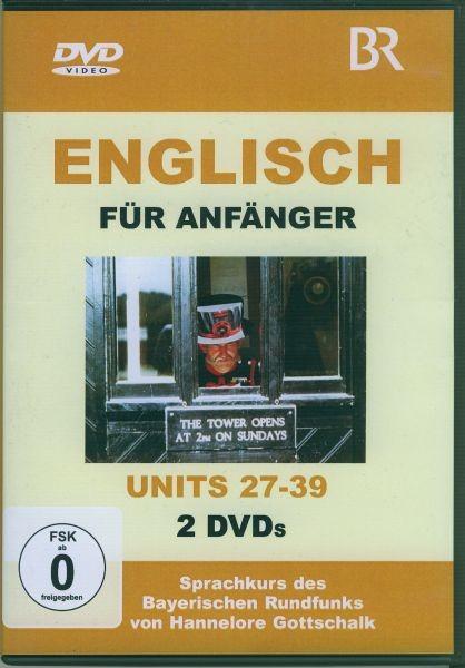 Englisch für Anfänger DVD 3-Units 27-39