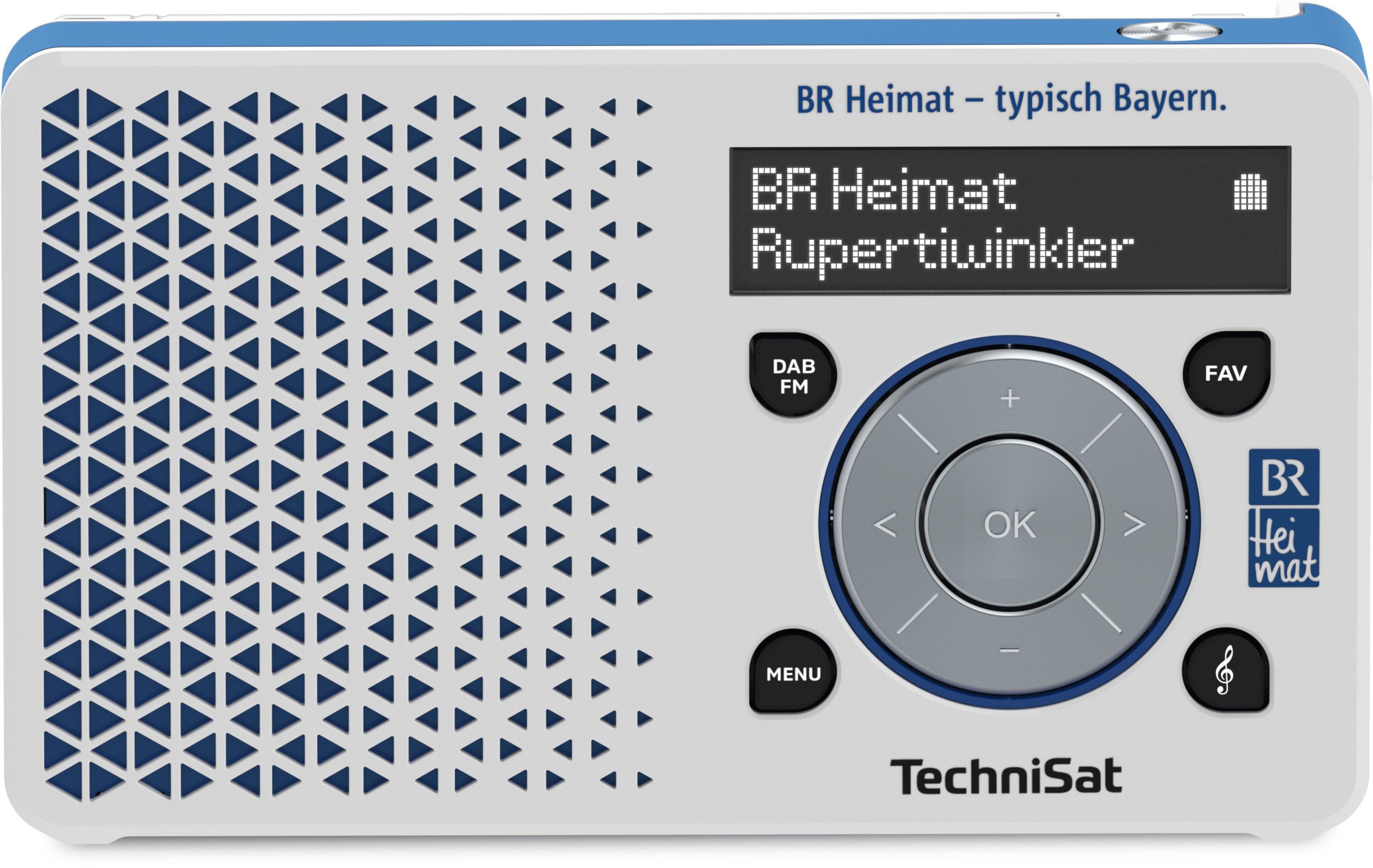 Digitradio 1 Br Heimat Edition Weiss Blau Br Shop