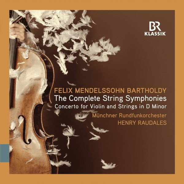 Felix Mendelssohn Bartholdy - Symphonien für Streicher 1-12