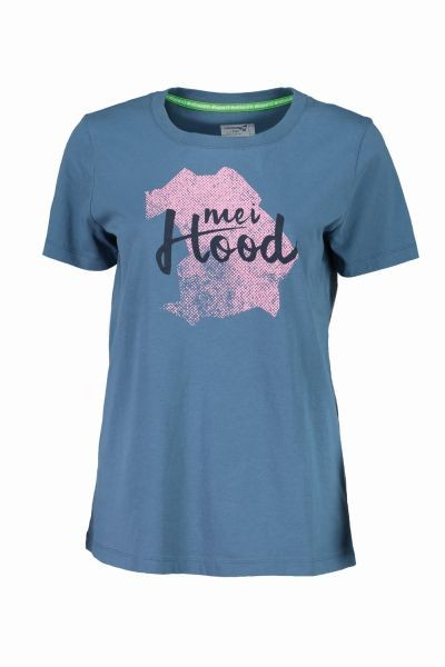 meiHood Frauen T-Shirt/ Blueberryblau XL