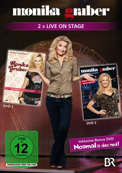 Monika Gruber-Zweimal live on Stage (DVD)